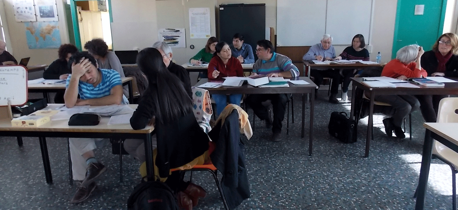 Apprentissage du français avec Amitié Solidarité